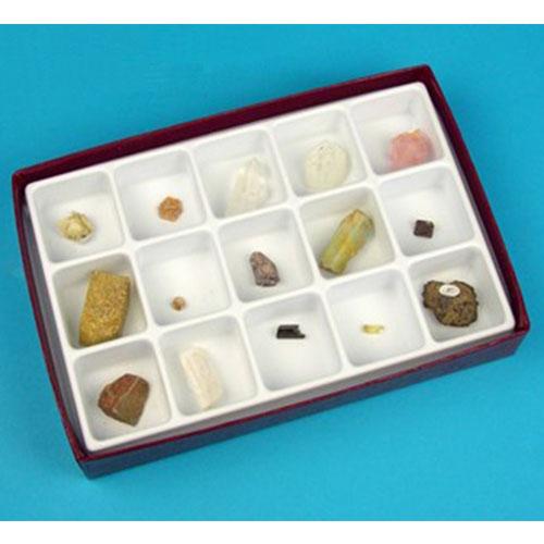 комплект минерали