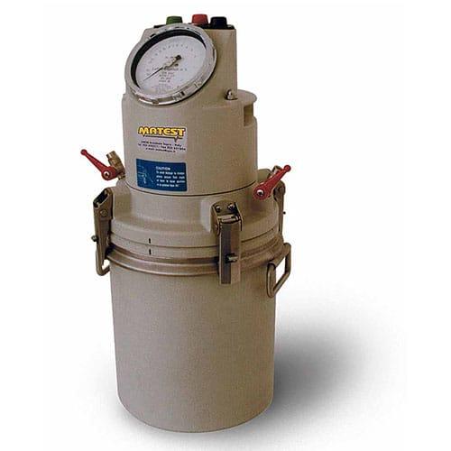 електрически уред за съдържание на въздух в бетон