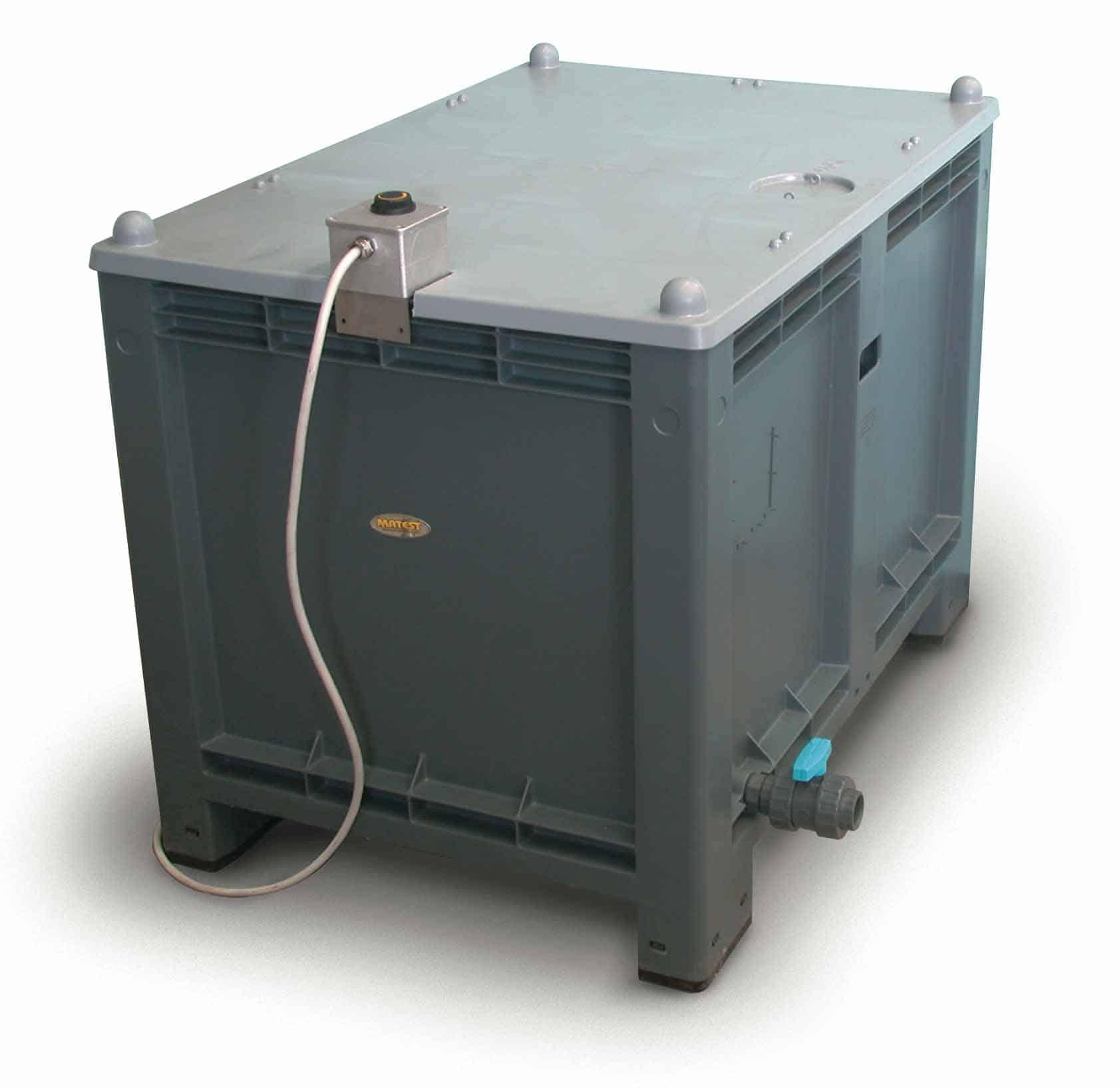 вана за отлежаване на бетонови кубчета