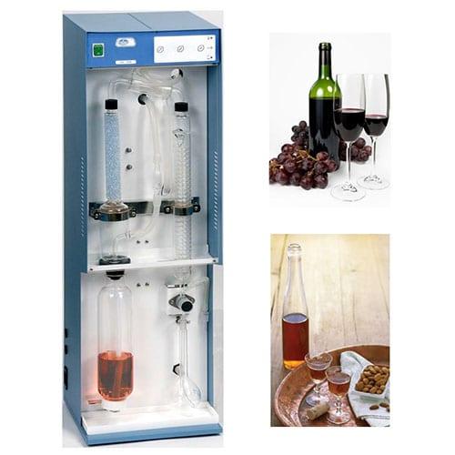 Екстракция на алкохол в спиртни напитки
