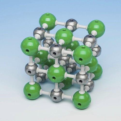 молекула NaCl сол