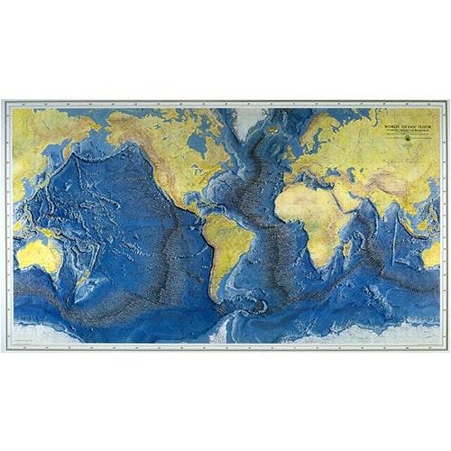 Карта морско дъно