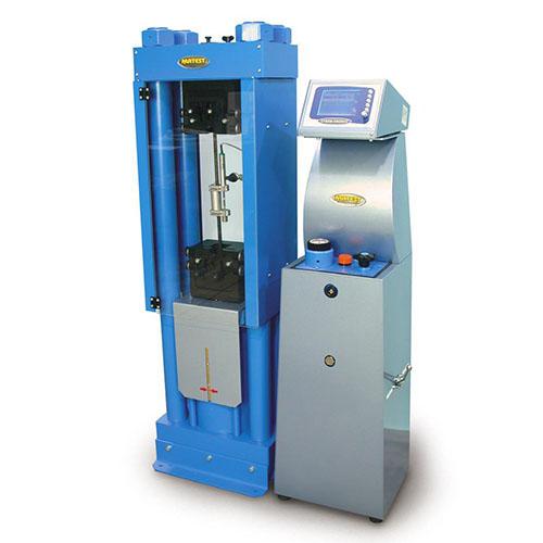 машина за изпитване на опън на стомана
