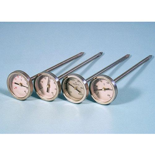 биметален термометър